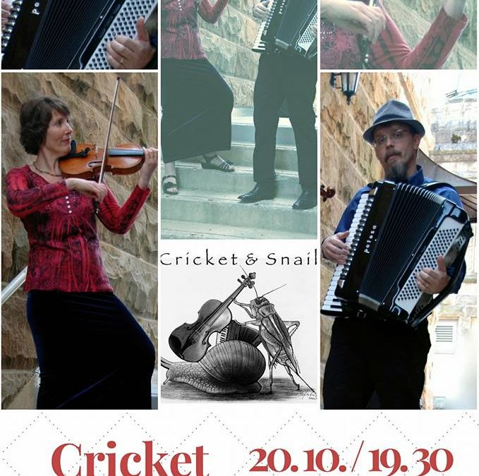 Koncert Cricket & Snail