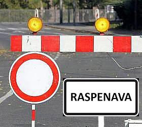 uzavirka Raspenava