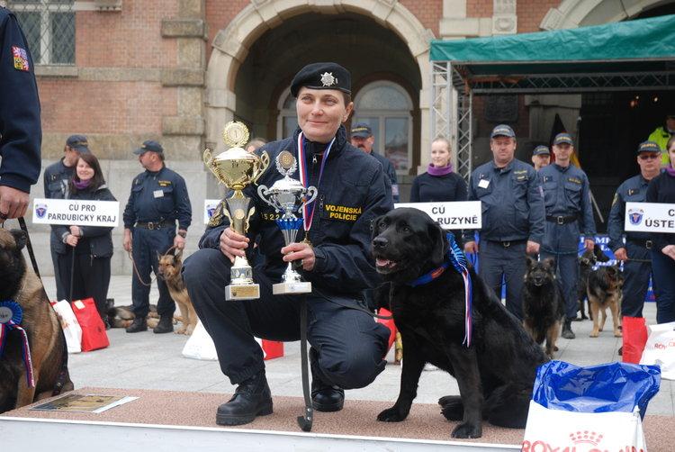 Policejní psi poměří své síly o pohár strážníků