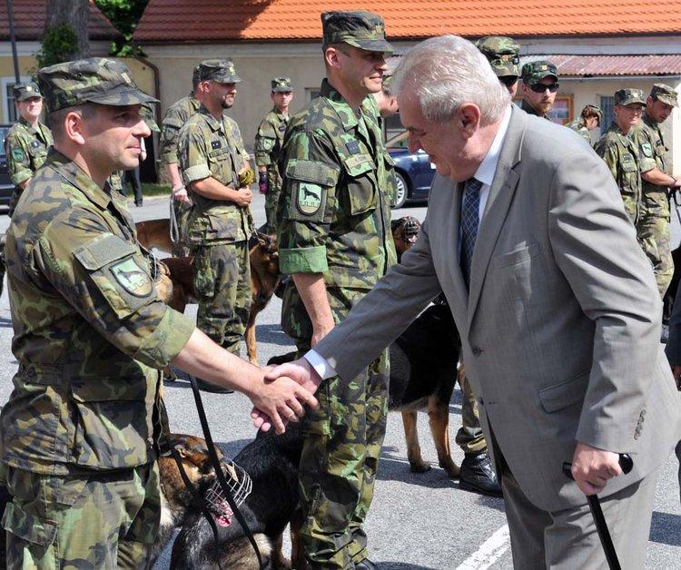 Prezident  ( FOTO Jaroslav Appeltauer )
