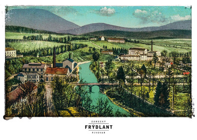 Poster Frýdlant Se Zámeckým Pivovarem
