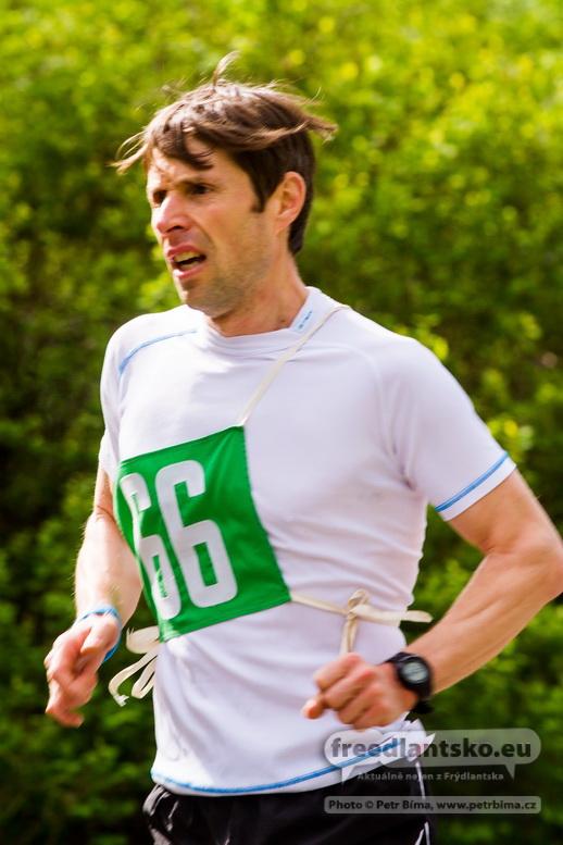Jedenáct kilometrů za 38 minut. To je nový běžecký rekord Memoriálu Oldřicha Hrdličky.