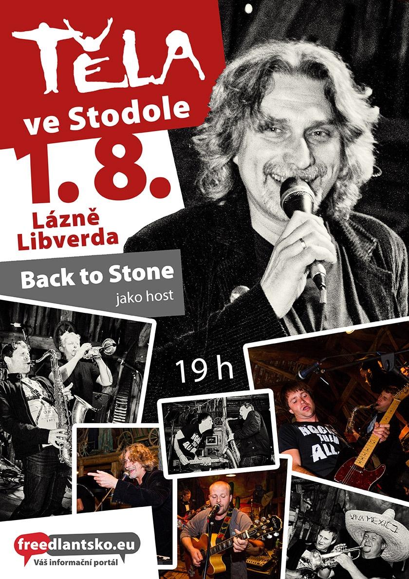 Do Stodoly se vracíme rádi, říkají členové liberecké kapely Těla