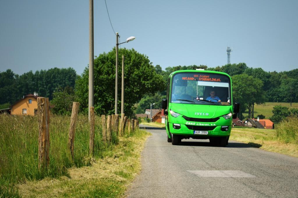 Městská doprava začne ve Frýdlantu jezdit poslední den prázdnin