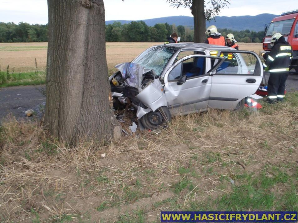 Tragická nehoda v Raspenavě