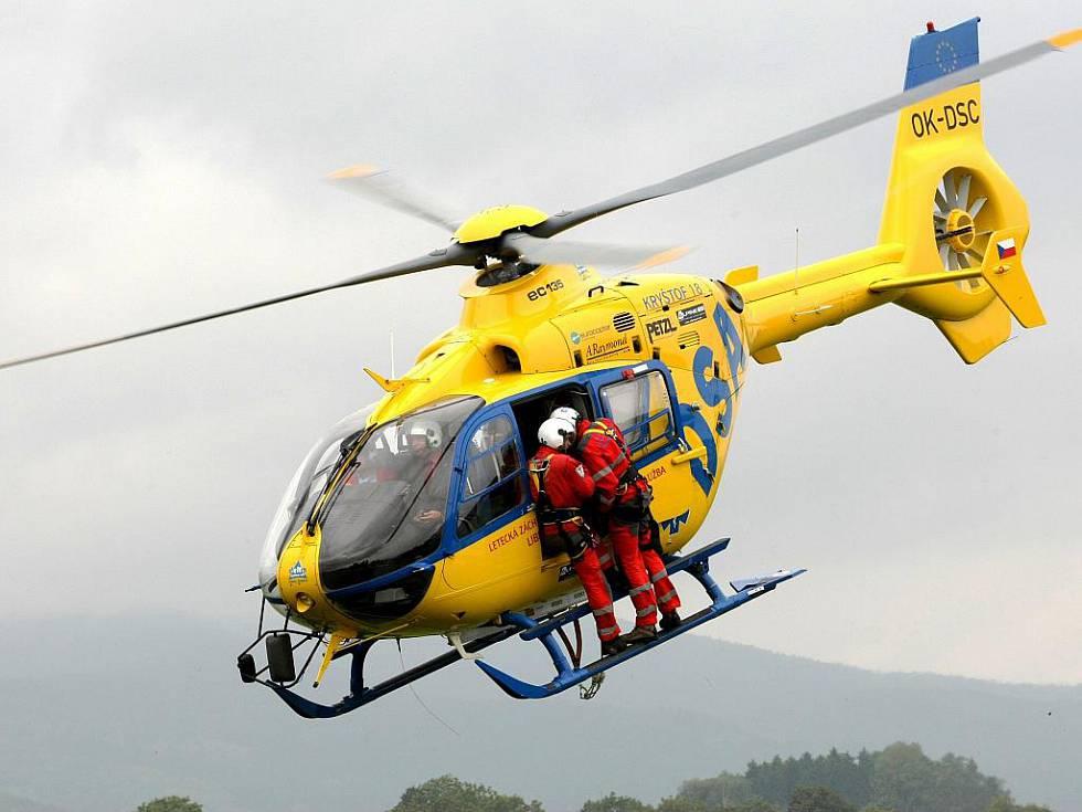 Při nehodě čtyřkolek se na Liberecku vážně zranily dvě děti