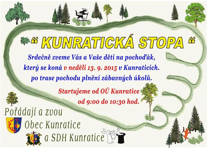 Pozvánka na Kunratickou stopu