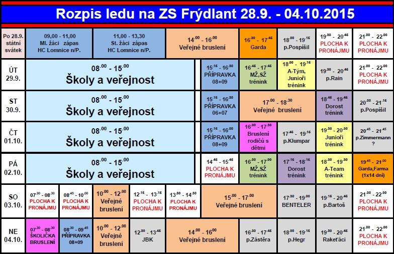 ROZPIS 40