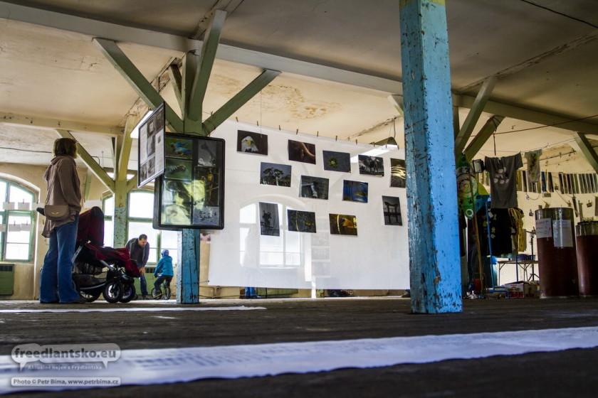 Fotoreportáž z výstavy 15 sloupů
