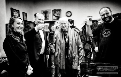 Velvyslanec Nizozemského království Eduard W. V. M. Hoeks navštívil Zámecký pivovar Frýdlant