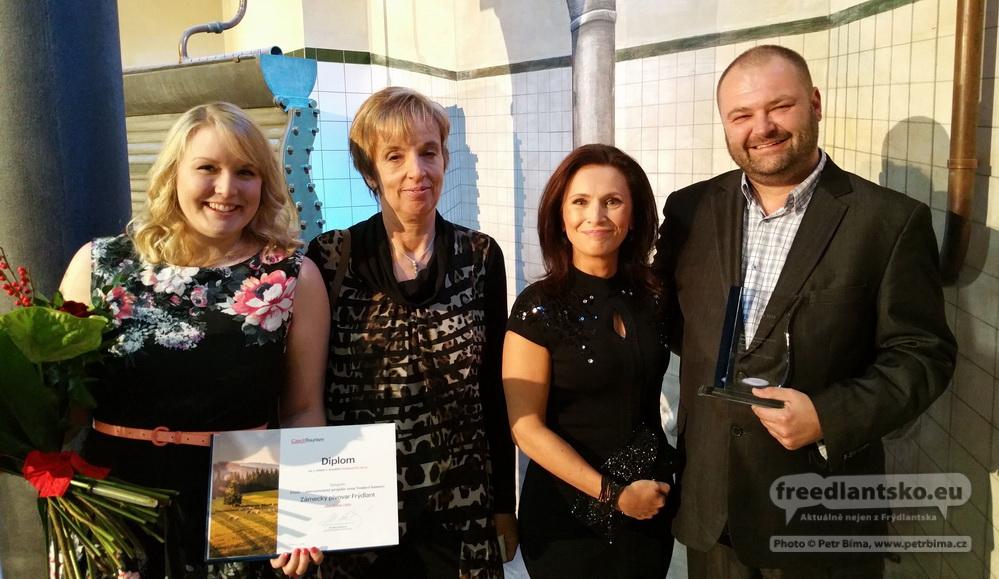 Zámecký pivovar Frýdlant se stal absolutním vítězem největší tuzemské soutěže agentury Czech Tourism