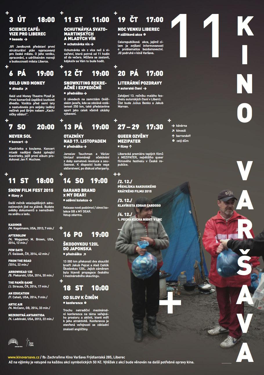 Program kina Varsava_listopad