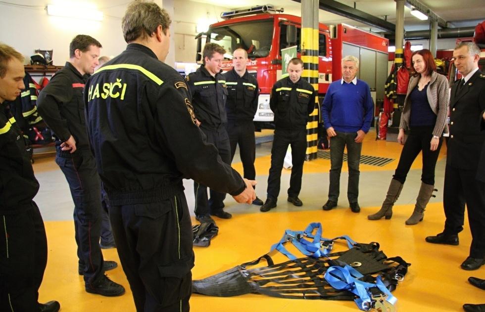 HZS Libereckého kraje má druhou záchrannou síť pro koně