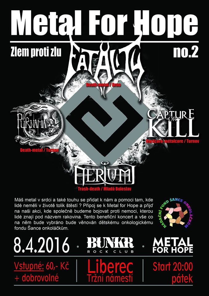 Metal for Hope – benefiční koncert