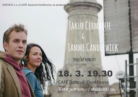 Pozvánka na koncert do CAFÉ Jazzové Osvěžovny