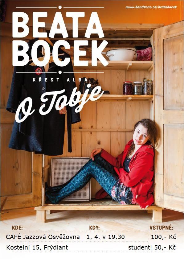 BEATA BOCEK: O TOBJE – koncert Beaty Bocek a Christoffera Strandh/ S