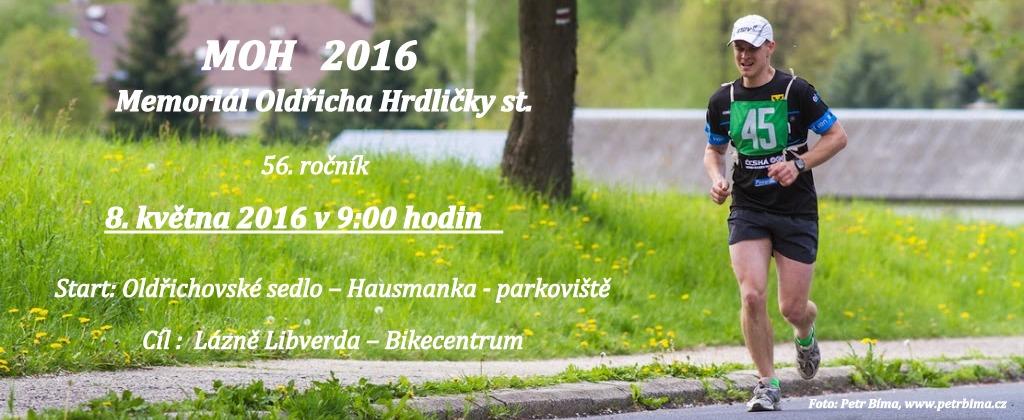 MOH 2016 – MEMORIÁL OLDŘICHA HRDLIČKY st. – 56. ročník – 2016
