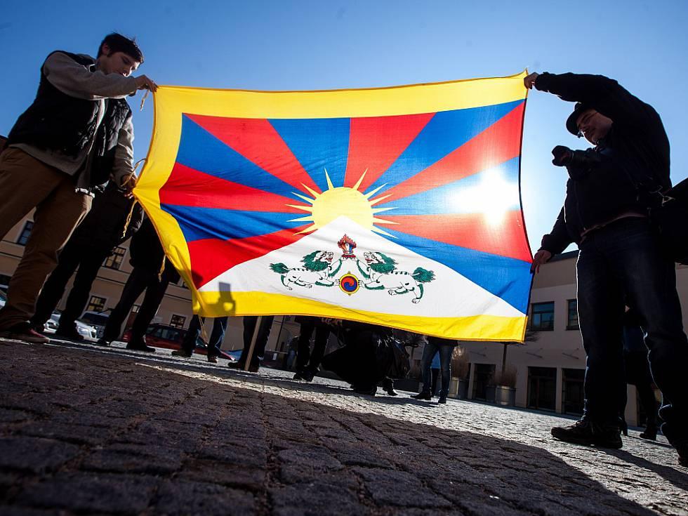 Vlajku pro Tibet vyvěsil již pojedenácté v historii Liberecký kraj i čtvrtina jeho obcí