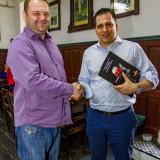 Europoslanec Tomáš Zdechovský navštívil Zámecký pivovar Frýdlant / Fotoreportáž