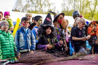 V Lázních Libverda Pálení čarodějnic Doprovázela Opět Vysoká Návštěvnost