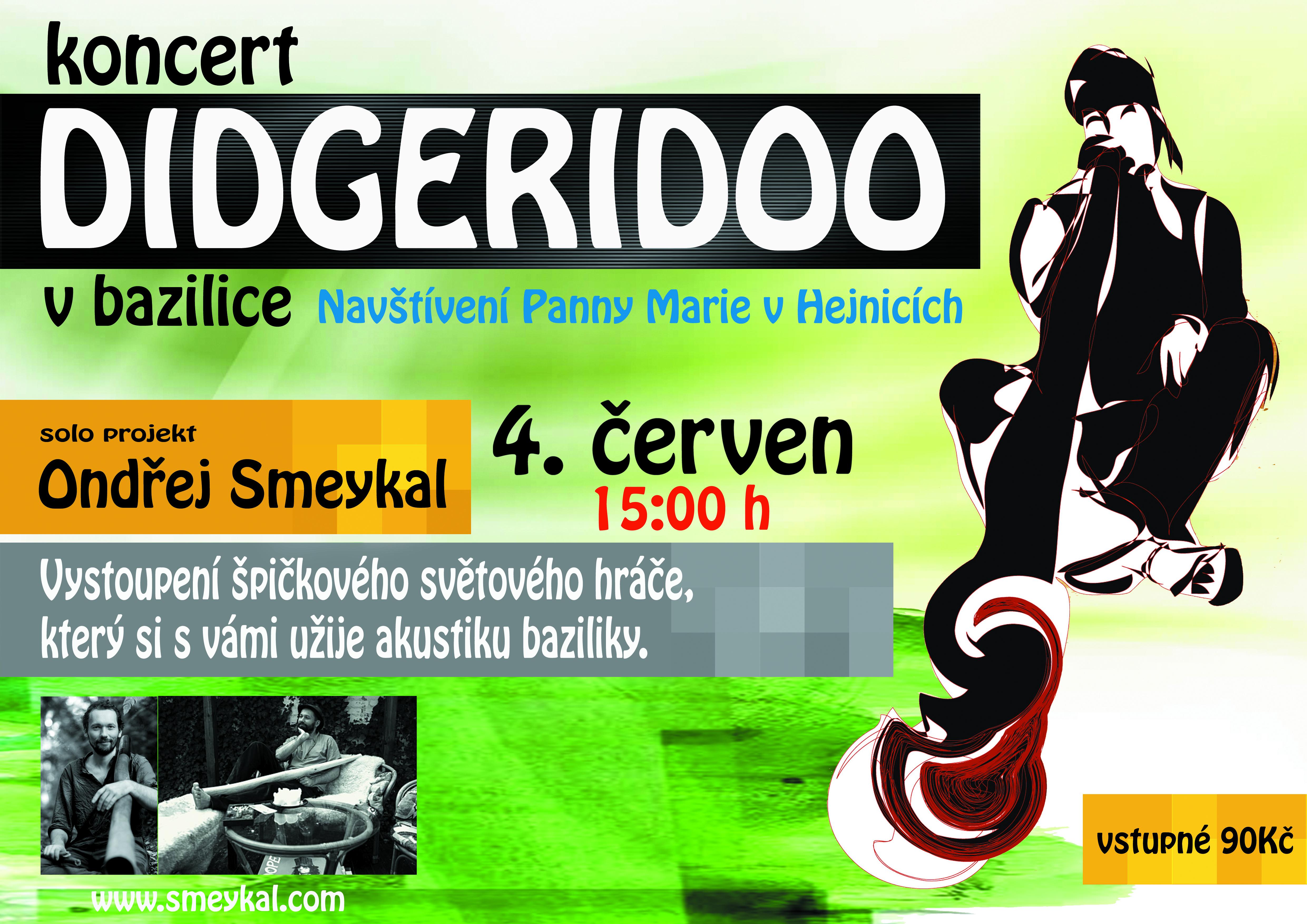 Jak zní didgeridoo? Přijďte to zjistit do Hejnic