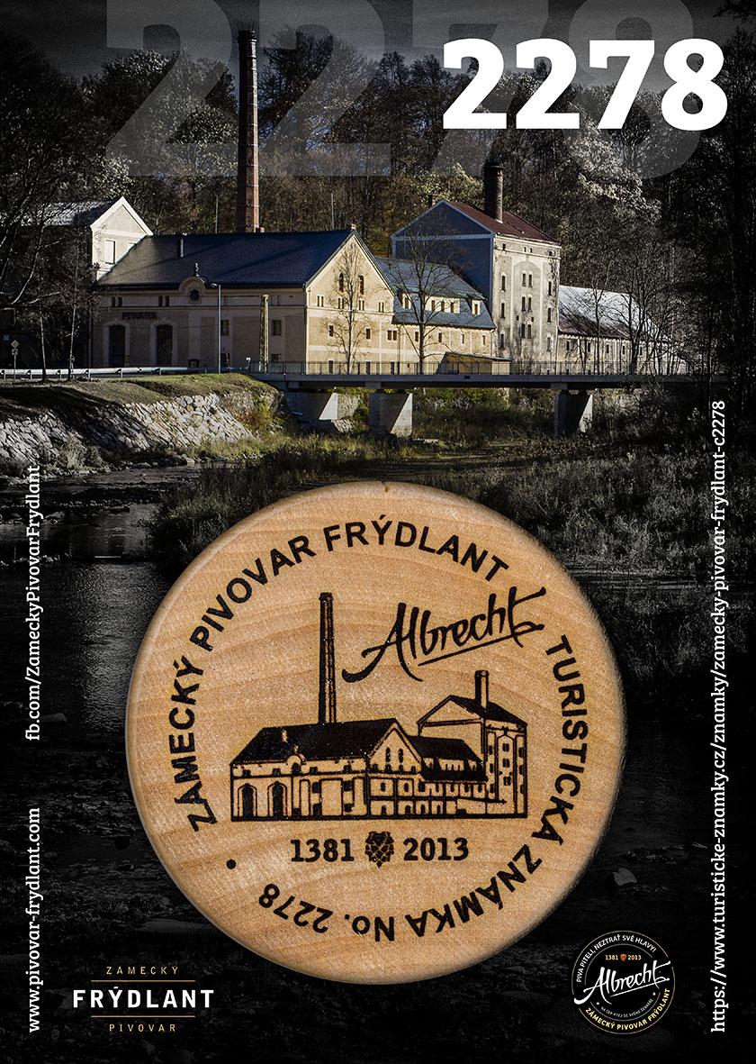 Zámecký pivovar Frýdlant získal Turistickou známku