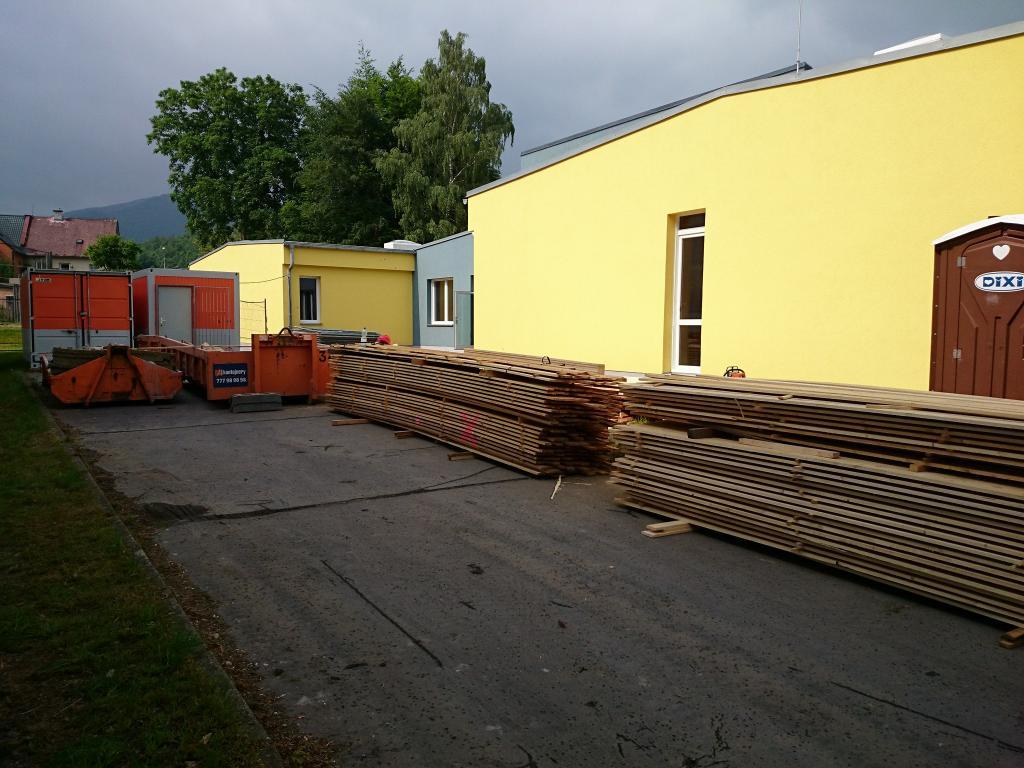 V Hejnicích začala další etapa rekonstrukce základní školy