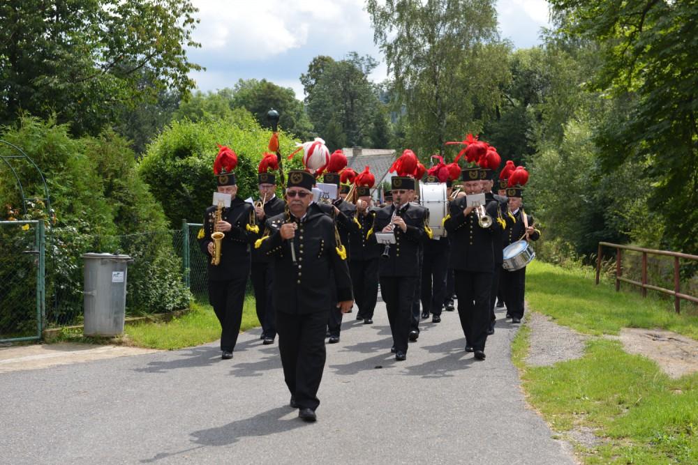 Dětřichov žil o víkendu oslavou několika výročí, na slavnosti dorazilo přes 500 lidí