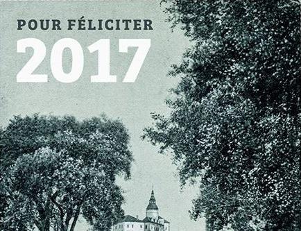 Pour féliciter 2017