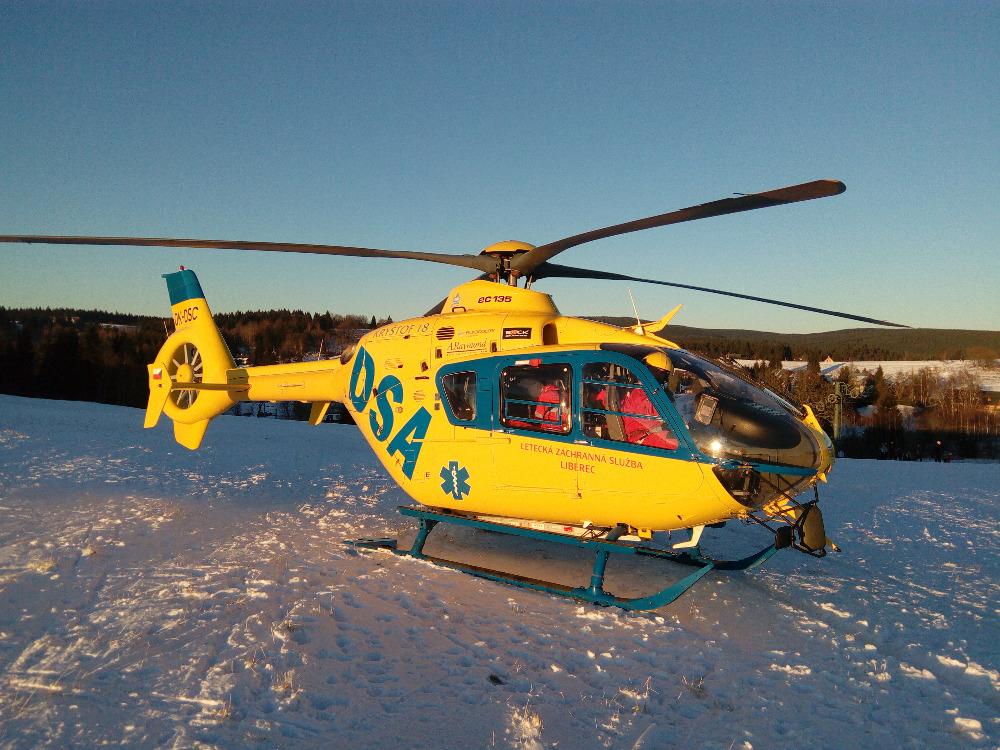 Letecká záchranná služba v České republice a v Libereckém kraji od ledna 2017