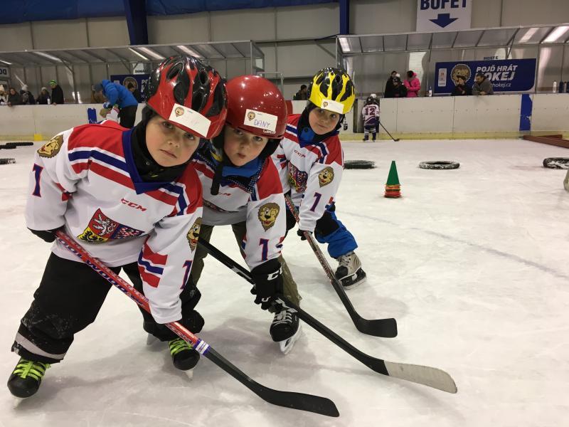 Zimní stadion hostí v sobotu 23. 9. akci Týden hokeje