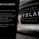Zámecký pivovar Frýdlant hledá skladníka