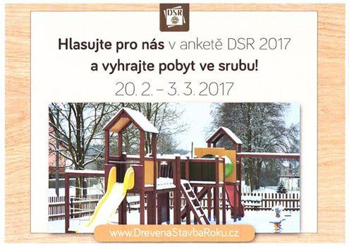 Podpořme obec Pertoltice v soutěži Dřevěná stavba roku 2017 – kategorie malá hřiště