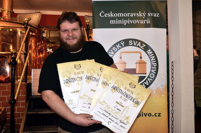 Po soutěži Zlatá pivní pečeť frýdlantský pivovar opanoval největší degustační soutěž piv z minipivovarů ve střední Evropě
