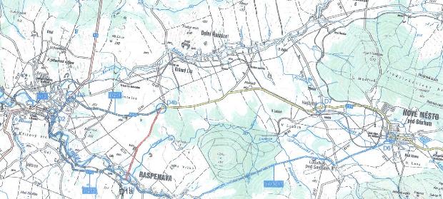 Uzavírka silnice ev. č. III/2909, Raspenava – Krásný Les, ul. Novoměstská
