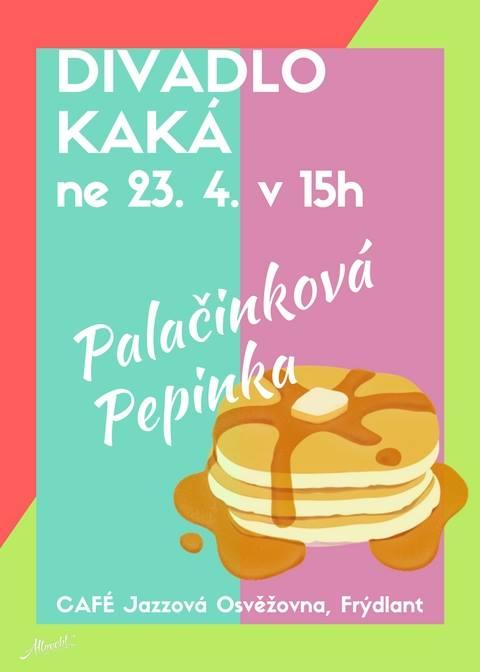 Palačinková Pepinka – pozvánka na nedělní pohádku