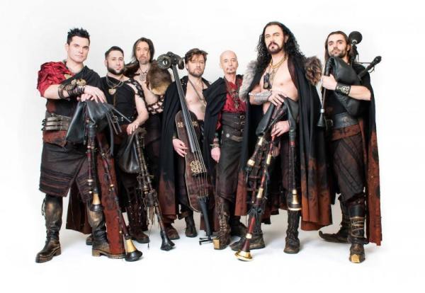 Na Valdštejnských slavnostech zahraje v sobotu kapela Corvus Corax, máme se na co těšit