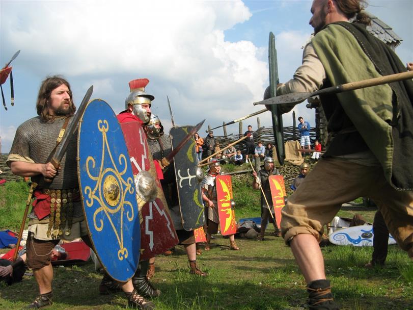 Antický festival Gladius ve Vítkově u Chrastavy