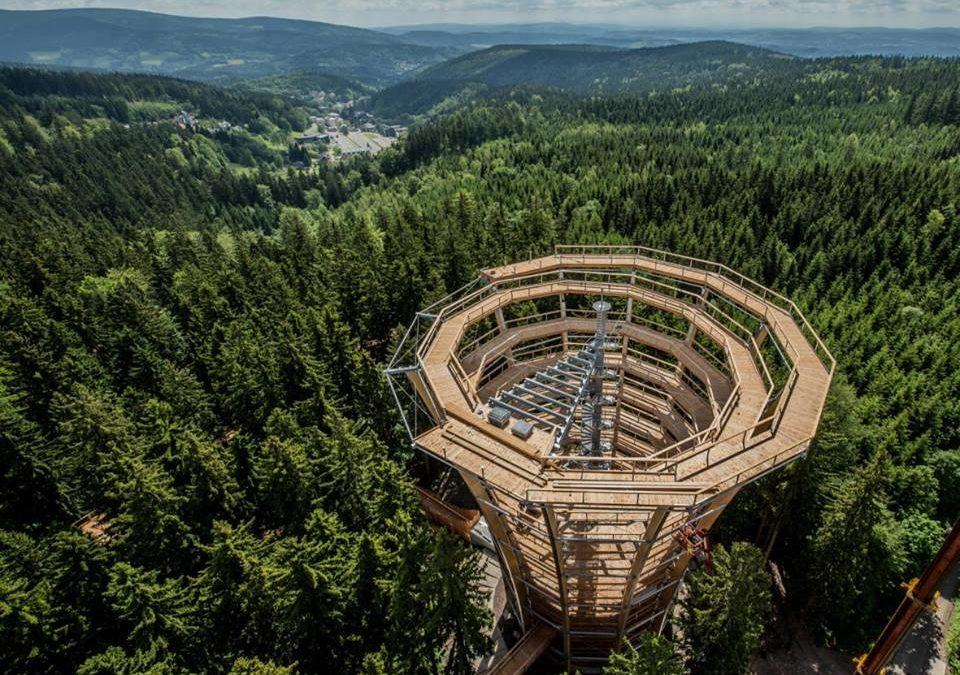 Slavnostní otevření Stezky korunami stromů Krkonoše