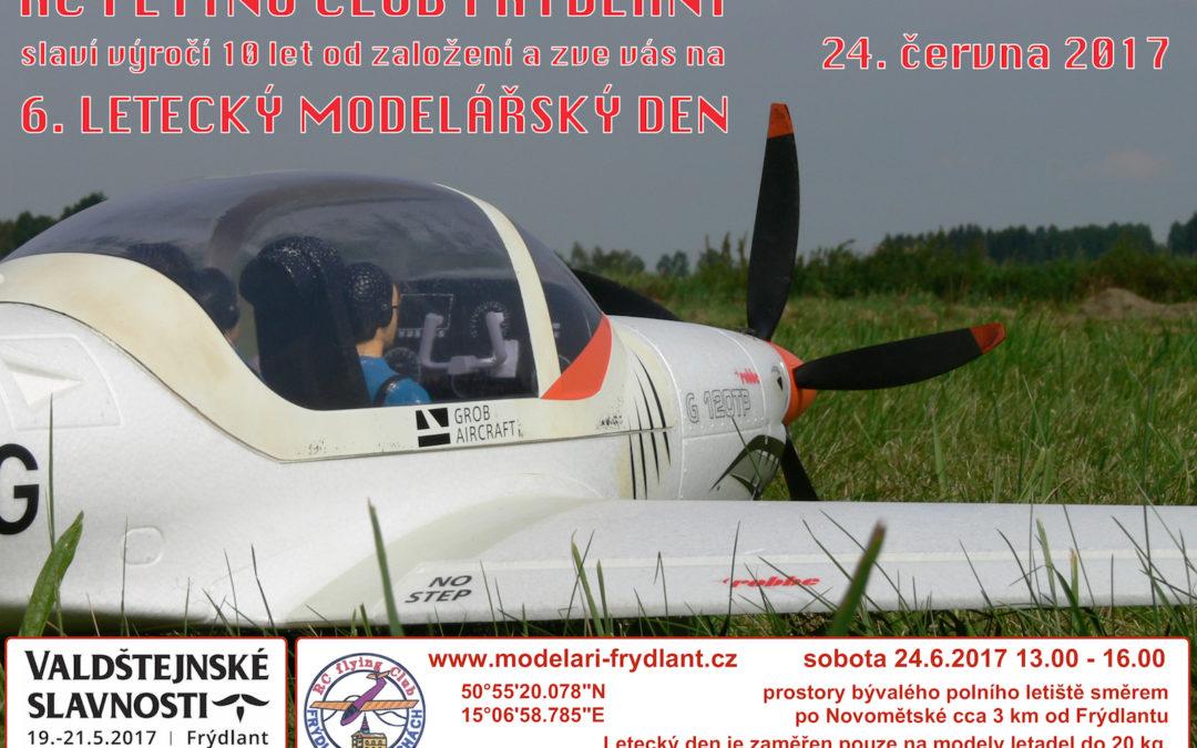 Pozvánka na letecký modelářský den