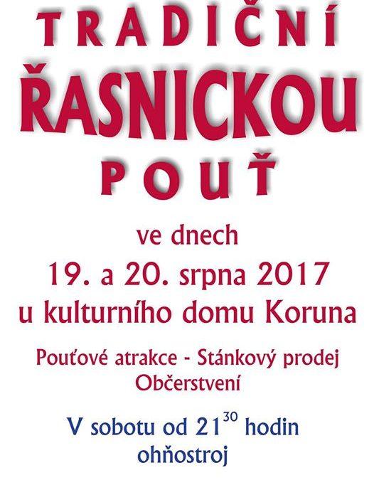 Pozvánka na tradiční Řasnickou pouť
