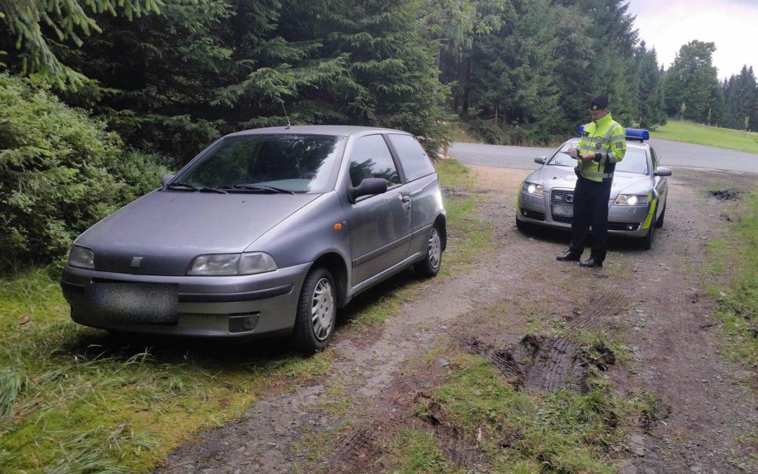 Policisté chrání i přírodní bohatství