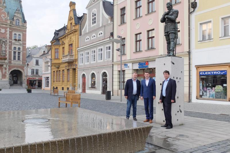 Frýdlant hostil hejtmana Libereckého kraje
