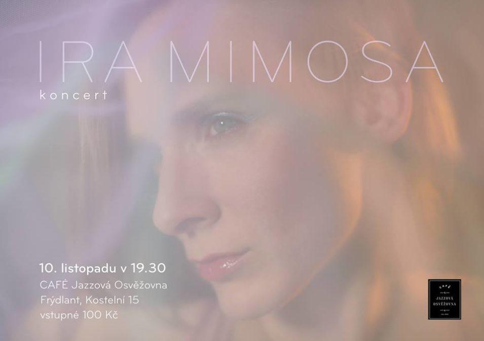 Pozvánka na koncert Iry Mimosy