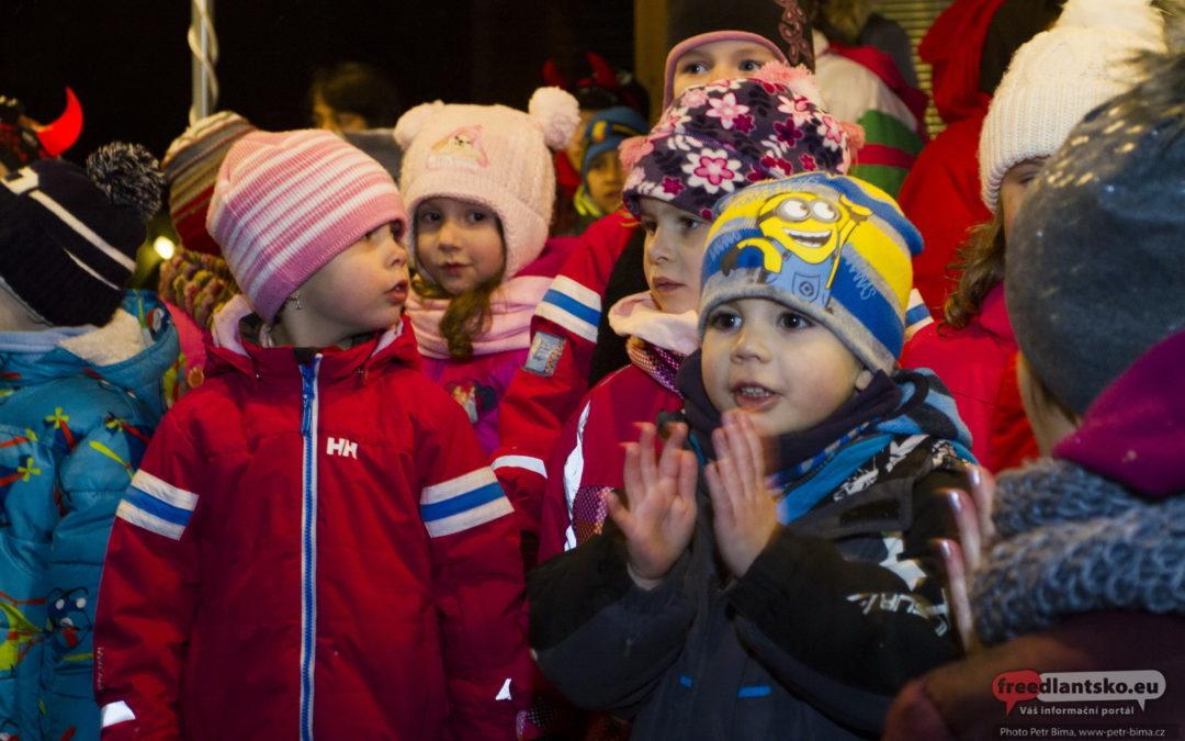 Rozsvícení vánočního stromu v Lázních Libverda 2017