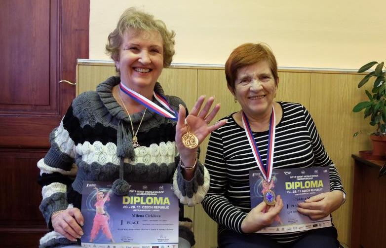 Frýdlantské seniorské tanečnice září, staly se vítězkami mezinárodní soutěže