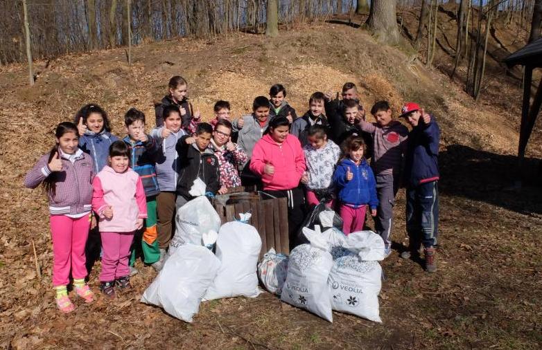 Frýdlant je díky dětem ze Základní školy speciální opět čistější