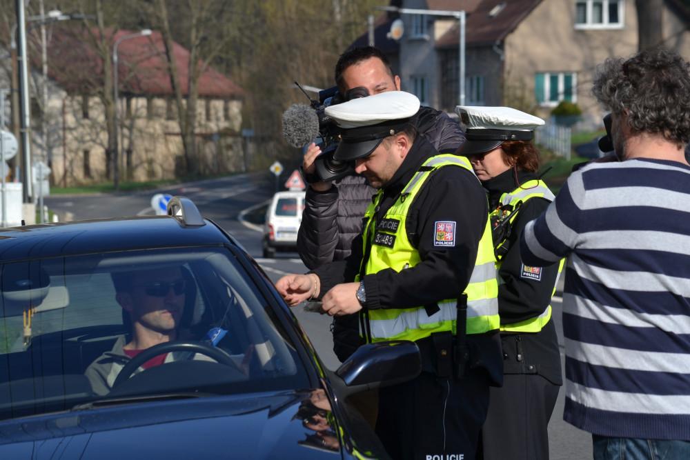 FOTO, VIDEO: Pospíchat se dnes nevyplatilo. Policisté měřili na pěti desítkách míst
