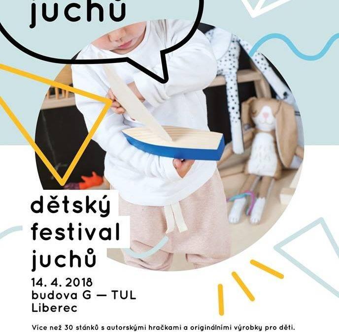 Pozvánka na dětský festival Juchů