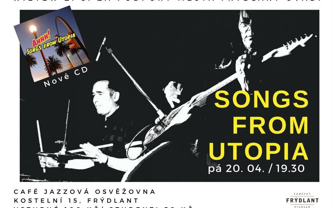 Koncert švýcarského dua Rebekky Zarkavi a Jury Doležala